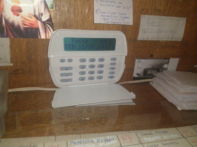mantenimiento sistema de alarma contra incendio