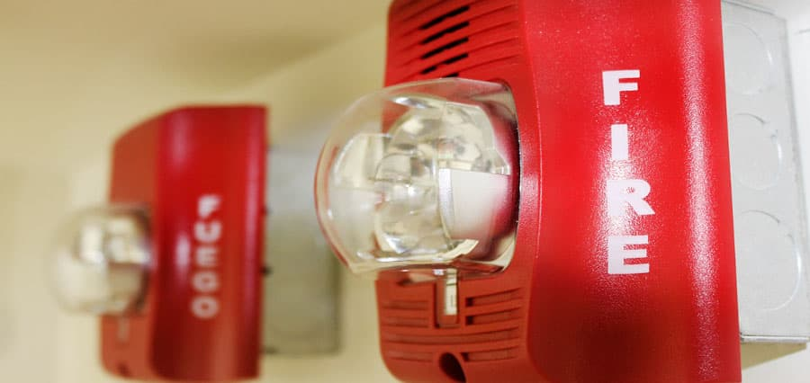 sistema de alarma contra incendio para edificios