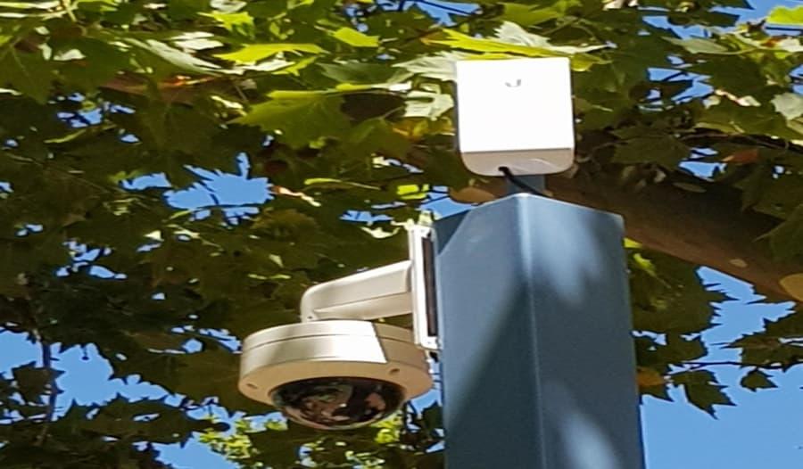 camaras ip con antenas ubiquiti
