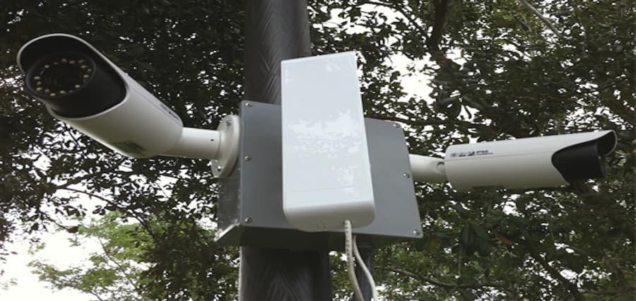 instalacion de camaras ip con antenas ubiquiti