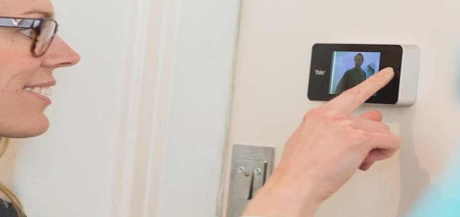 mirilla digital para puerta