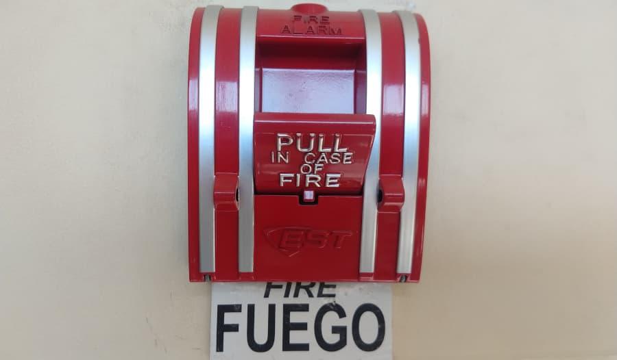 mantencion de alarma de incendio