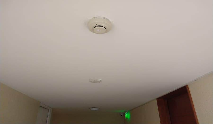 mantenimiento de alarma contra incendio