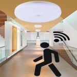 Instalación de sensores de movimiento para iluminación