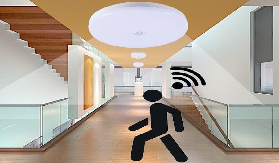 sensores de movimiento para iluminacion